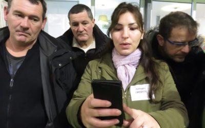 Brochet-Teambuilding créé le premier rallye smartphone Sécurité au travail !