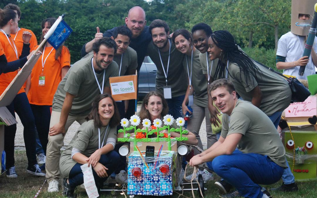 Deloitte France passe en gamification Smartphone pour renforcer la cohésion de ses auditeurs !