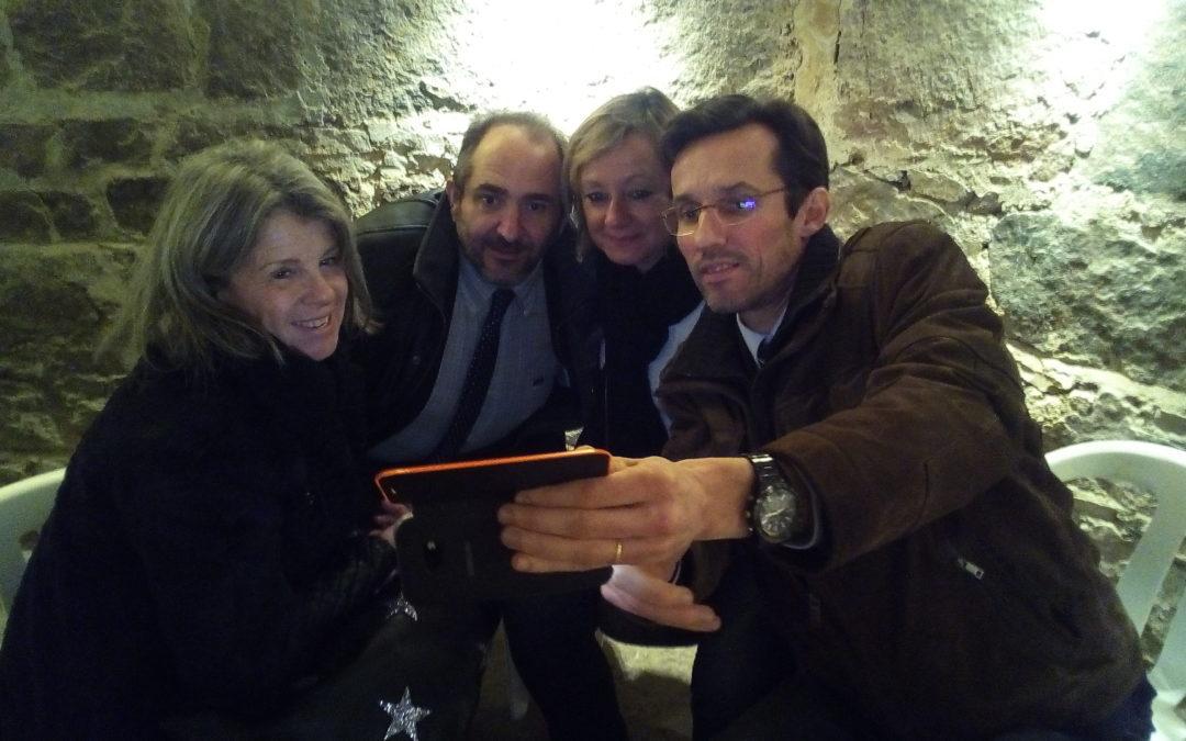 Brochet-Teambuilding organise une nouvelle expérience hybride associant Gamification, networking et découverte d'un splendide domaine viticole en Beaujolais