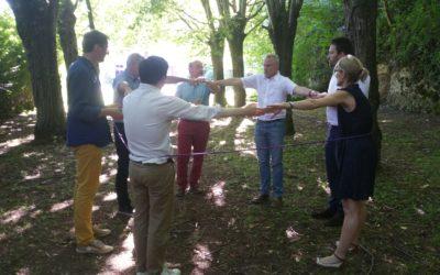 La Direction financière de La Poste passe en mode happy teambuilding pour son séminaire des managers du mois de juin 2018 !
