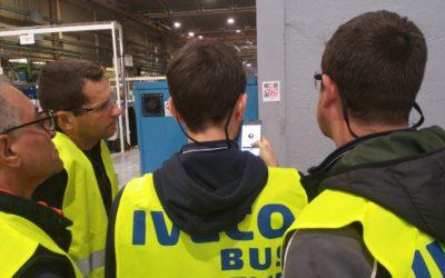 IVECO Bus Lyon organise son premier Rallye Sécurité HSE Teambuilding 2018 dans son usine d'Annonay à l'occasion de sa convention d'intégration des nouveaux embauchés !