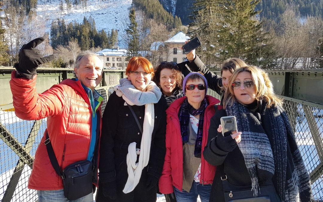 La Poste anime son workshop commercial à Chamonix le 22 janvier 2019 à l'aide de l'expérience Rallye SmartFun de Brochet-Teambuilding & Coaching !